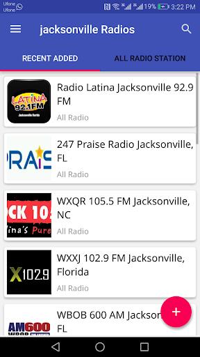 Jacksonville All Radio Stations 2.1.2 screenshots 1