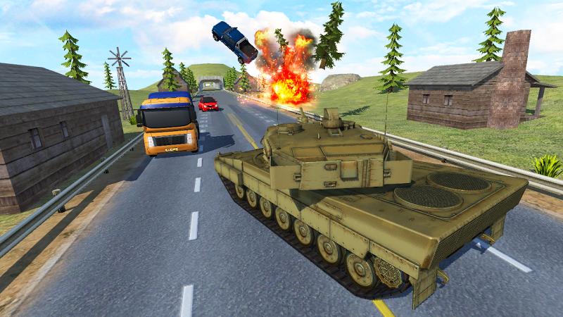 Скриншот Tank Traffic Racer 2