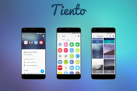 Tiento - Icon Pack Screenshot