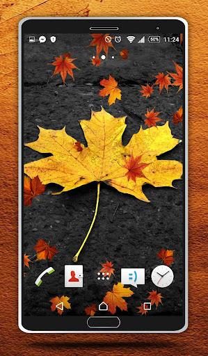 無料个人化Appの秋ライブ壁紙|記事Game