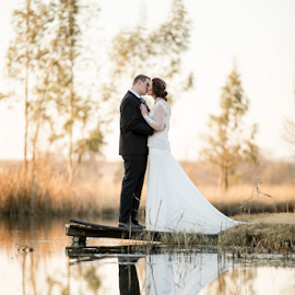 Reflect  by Lood Goosen (LWG Photo) - Wedding Bride & Groom ( bride, wedding dress, groom, wedding photographer, wedding photography, bride and groom, weddings, wedding day, wedding photographers, wedding )