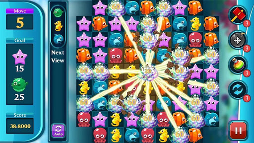 Ocean Match Puzzle 1.2.3 screenshots 5