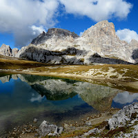 Le Dolomiti si specchiano di Giorgio Lucca
