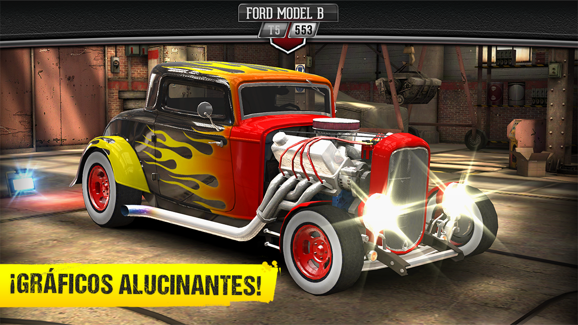 CSR Classics: captura de display