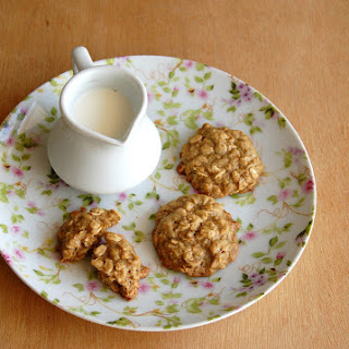Oat, Orange And Ginger Cookies.