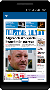 Filipstads Tidning e-tidning - náhled