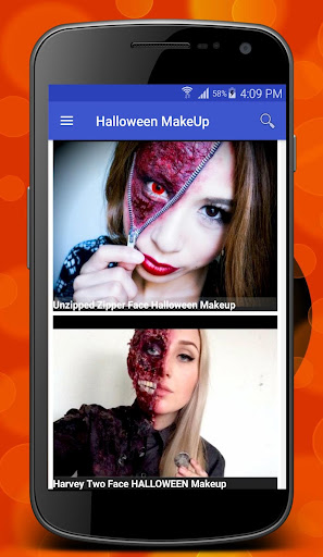 玩免費遊戲APP|下載Halloween Makeup Tutorials app不用錢|硬是要APP