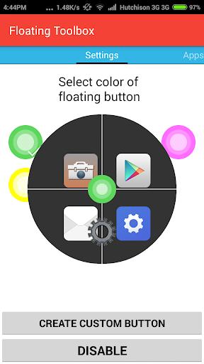 Floating Toolbox