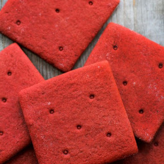 Red Velvet Graham Crackers