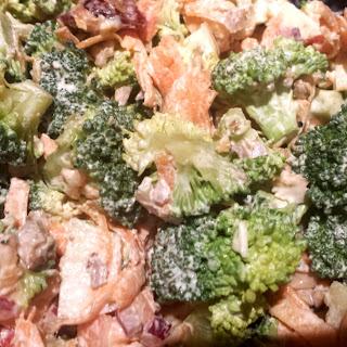 Broccoli & Walnut Salad