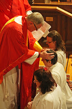 Photo: Therefore, Father, through Jesus Christ your Son, give your Holy Spirit to Suzanne; fill her with grace and power, and make her a deacon in your Church.