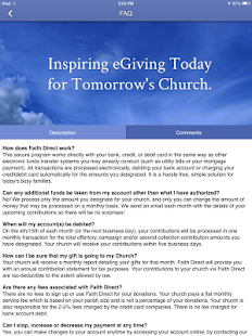 Faith Direct – Church eGiving- screenshot thumbnail