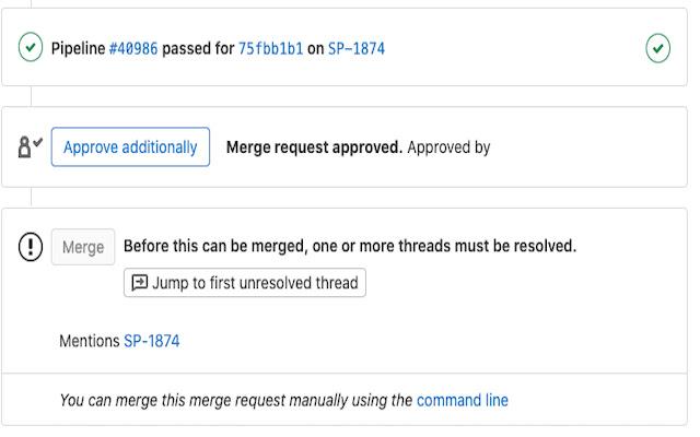 Remove the Gitlab's Approve button