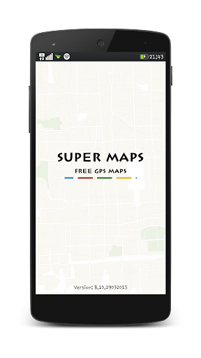 Super Maps Free Gps Maps