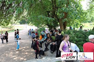 Photo: Journée cosplay organisé par Otaku Lyon le Samedi 30 Juin 2012 au part de la tête d'Or à Lyon. Photo prise par notre photographe principal
