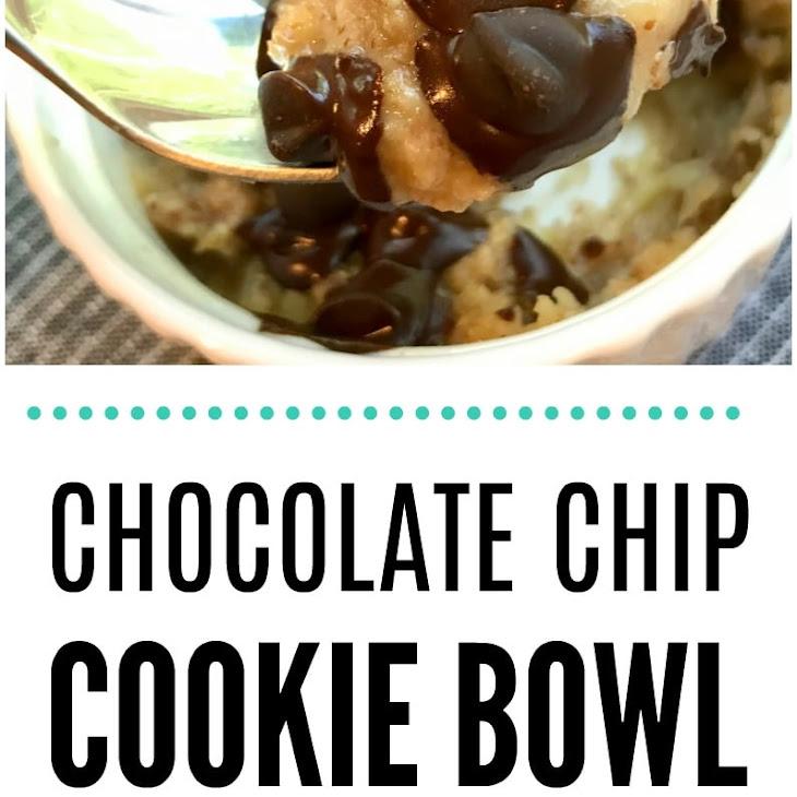 Warm Chocolate Chip Cookie Bowl Recipe