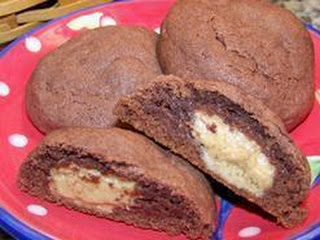 Soft Choco-peanutty Cookies Recipe