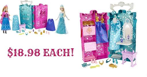 Disney Frozen Anna and Elsa's.