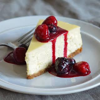 New York-Style Cheesecake.