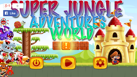 Super Jungle Adventures World - náhled