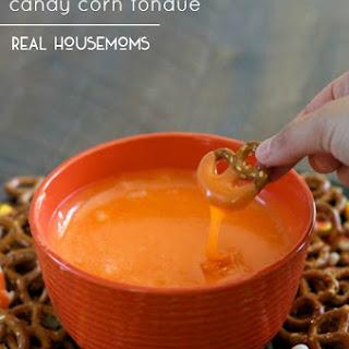 Slow Cooker Candy Corn Fondue