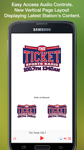 The Ticket 100.7- screenshot thumbnail