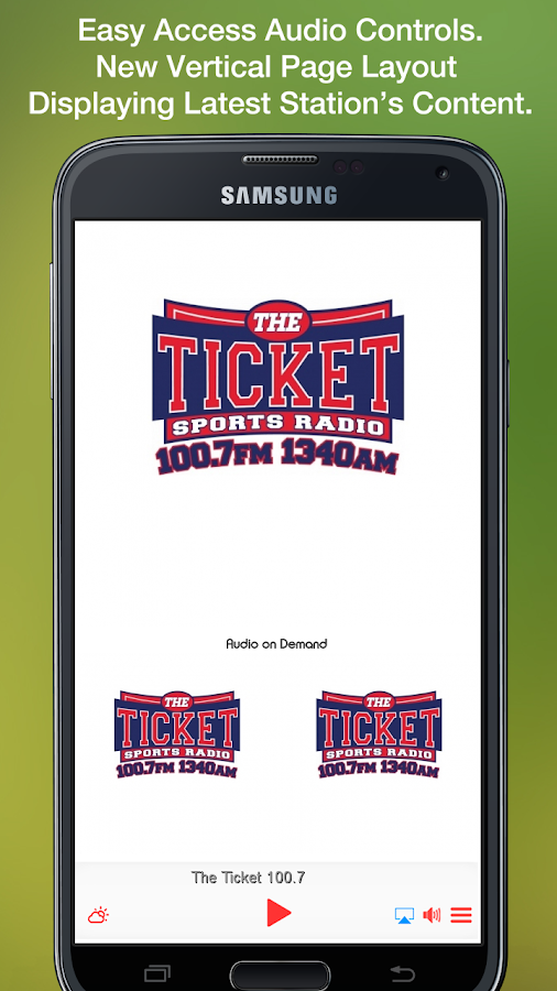 The Ticket 100.7- screenshot