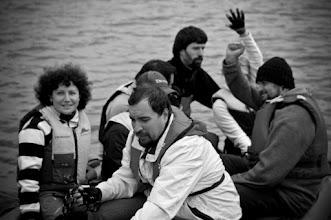 Photo: Crew changing with rib.  photo by Maria Guryeva