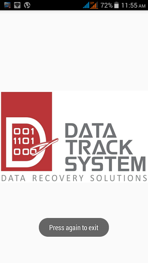 Data Track System- screenshot