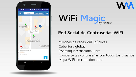 WiFi Magic by Mandic Passwords: miniatura de captura de pantalla