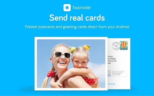 Touchnote - screenshot thumbnail