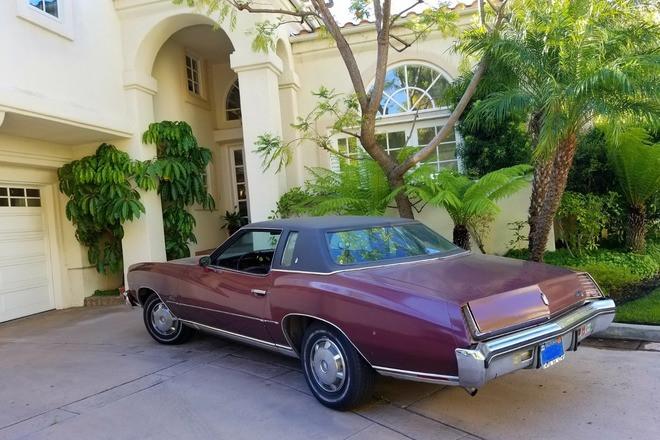 1973 Burgundy Chevy Monte Carlo Hire CA