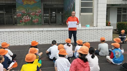 1081104升旗慶生會 母語教學