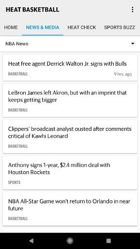 Heat Basketball screenshots 2