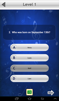 Trivia & Quiz: One Direction - screenshot