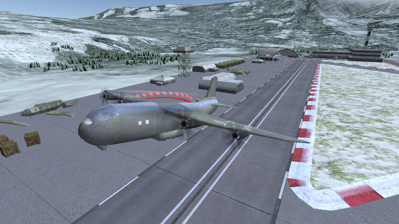 Flight Simulator: War Airplane- screenshot