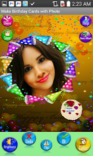 Make birthday cards with photo apps on google play screenshot image bookmarktalkfo Gallery