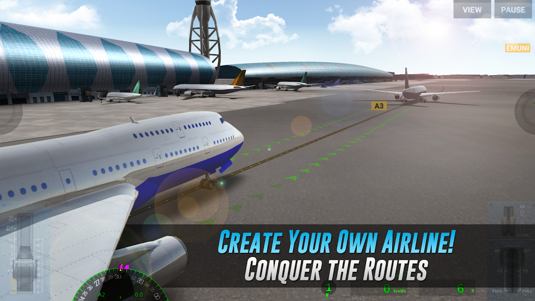 Airline Commander - A real flight experience Android App Screenshot