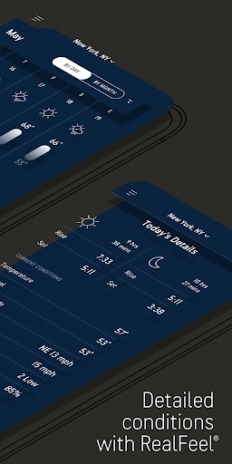AccuWeather: Weather alerts & live forecast radar screenshots 3