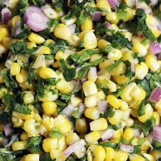 Chipotle's Jalapeno Lime Corn Salad.