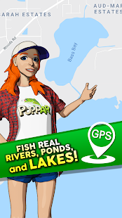 Download Poppin Bass Fishing: Go Catch Big Bass with GPS! For PC Windows and Mac apk screenshot 5