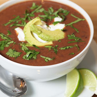 Vegetarian Black Bean Soup.