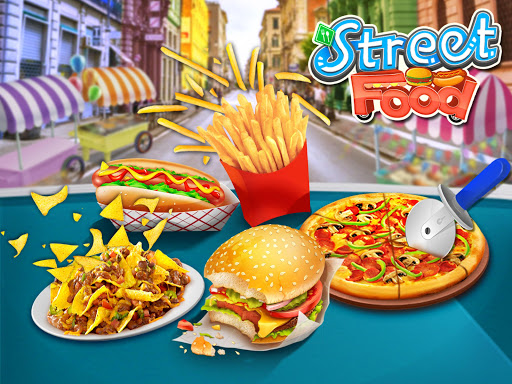 Street Food Stand Cooking Game 1.1 screenshots 1