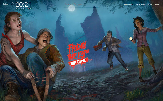 Friday the 13th The Game FullHD Wallpapers