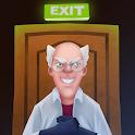 crazy neighbor doctor icon