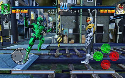 Legend Hero Super Dino Fight Ranger Ninja Warrior 10.0 screenshots 6