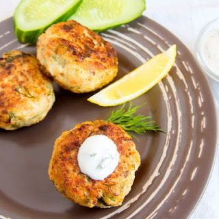Grilled Salmon Patties