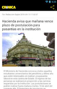 Diario Cronica Paraguay screenshot 2