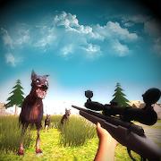 Wild Zombie Dog Survival - City Sniper Gun Shooter