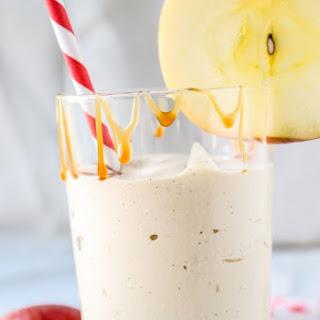 Caramel Apple Cider Reduction Shakes